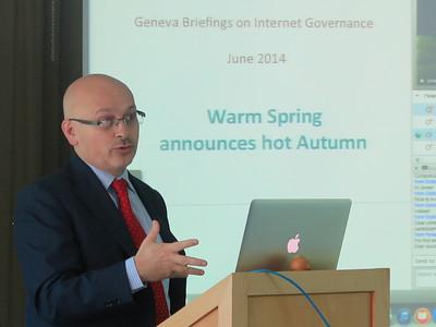 Geneva Briefing on Internet Governance [Webinar], June 2014