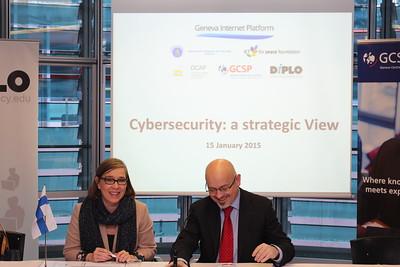 Cybersecurity: a Strategic View - Geneva Cybersecurity Days, Jan 2015