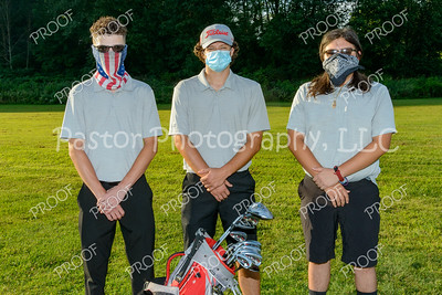 Golf - Boys Senior Mask