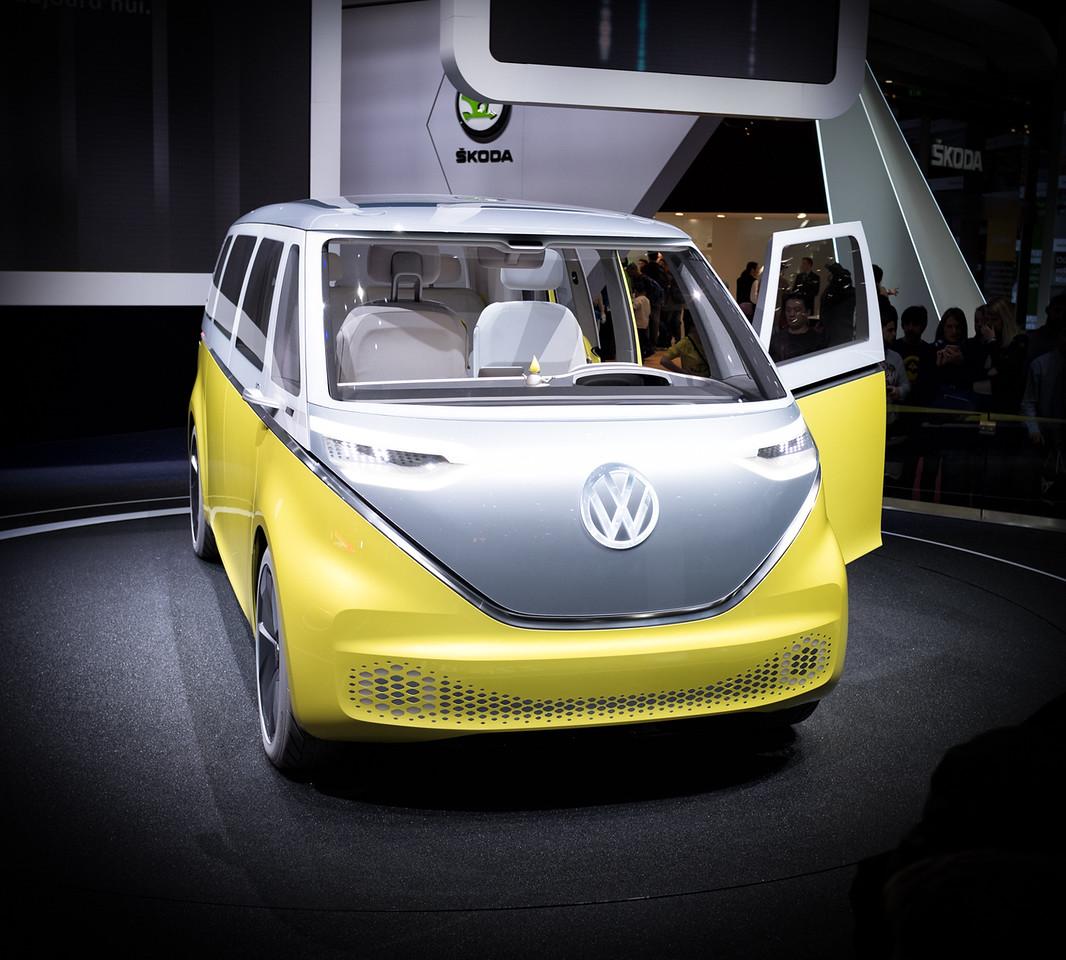 Volkswagen I.D. Buzz Concept Camper