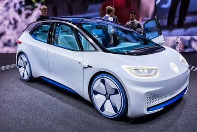 Volkswagen I.D. Hatchback Concept Car