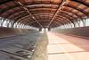 Tunnel of the Secheron trainstation in Geneva