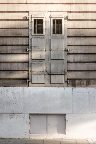A window in Geneva old town