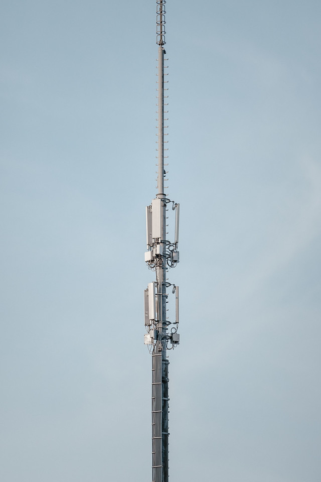 An antenna in Geneva