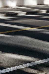 Light effects on a street
