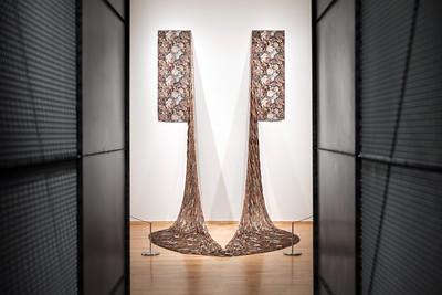 An artwork on display at the MAH