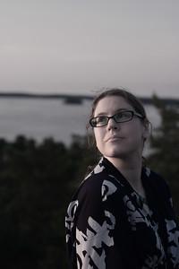 Susanne, desaturated