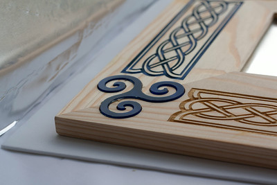 Lasercut inlays