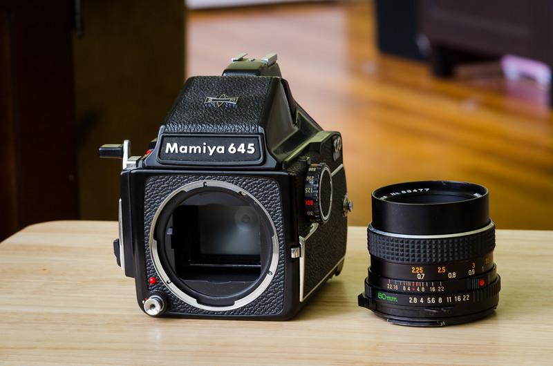Mamiya 645 Medium Format Film