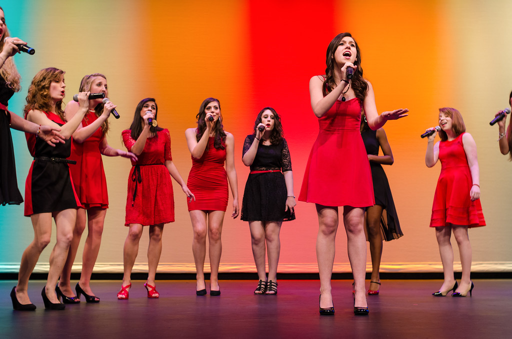 Ladies in Red Acapela