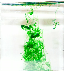 Green ink vortices