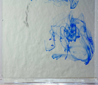 Blue ink vortices