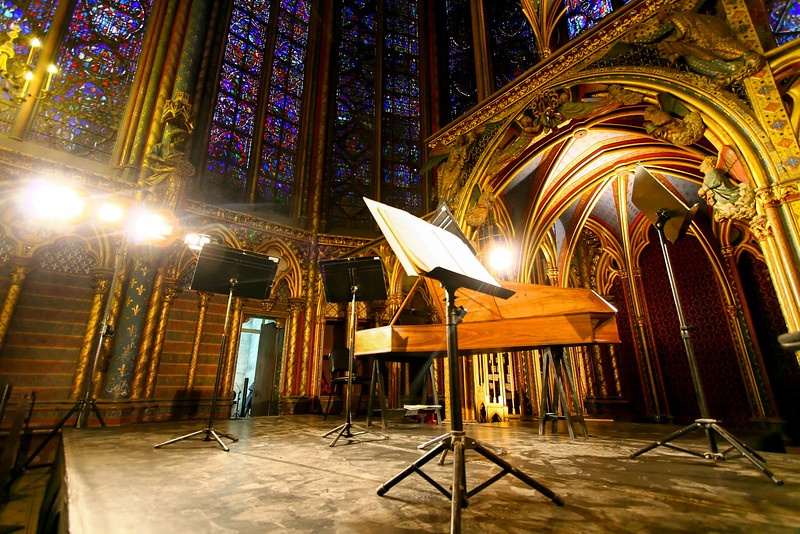 Concert in Sainte Chapelle