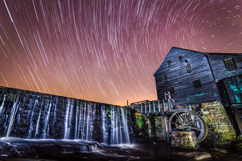 Yates Mill Star Trails