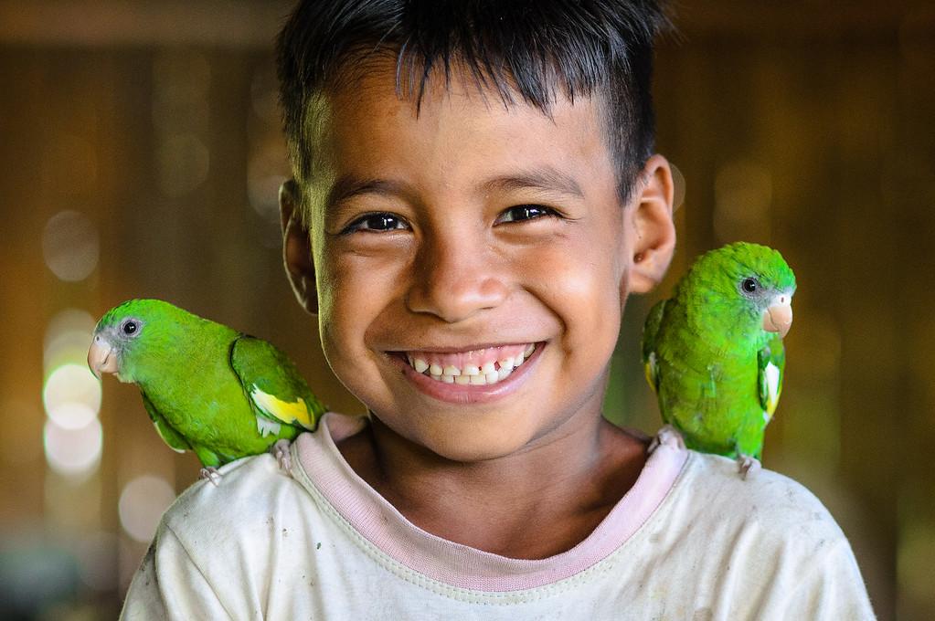 Smiling Eyes, Singing Birds