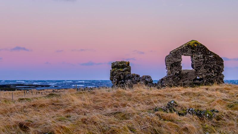 Ruin, Iceland