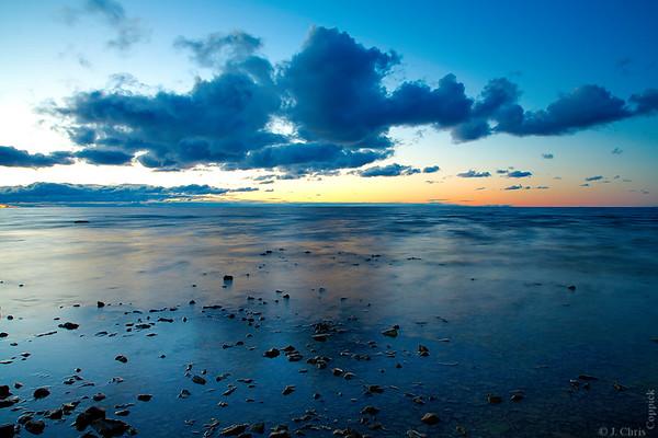Lake Michigan, Bayshore, Michigan