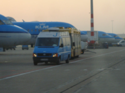 KLM in a row