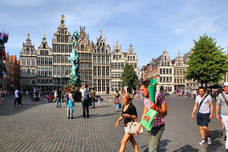 A Praça Grote Markt