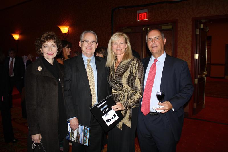 Helen & John Wommack, Kim & Mark Dutton