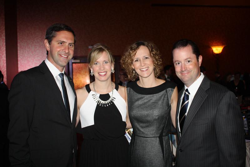 Greg Leding, Emily Ironside, Angela & Justin DeLille2