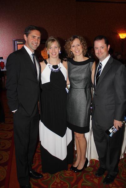 Greg Leding, Emily Ironside, Angela & Justin DeLille