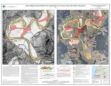 Channel Migration Hazard Map for the Coquille River, Coos County, Oregon, River Miles 43 through 47 http://www.oregongeology.org/pubs/ofr/p-O-11-09.htm
