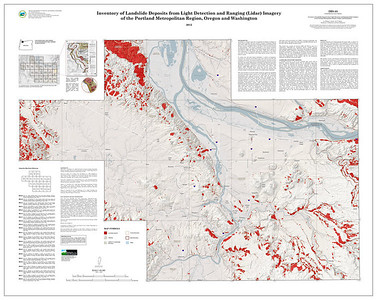 Inventory of Landslide Deposits from Light Detection and Ranging (Lidar) Imagery of the Portland Metropolitan Region http://www.oregongeology.org/pubs/ims/p-ims-053.htm