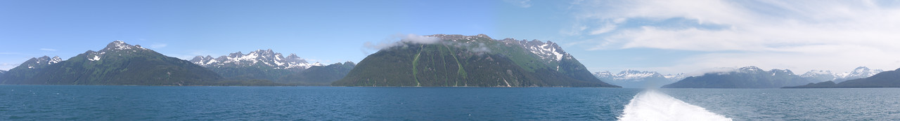 Valdez to Whitier
