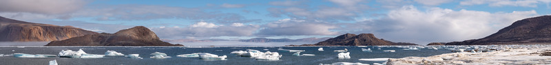 Alexandra Fjord Sphinx and Skraeling Island Ellesmere, Nu