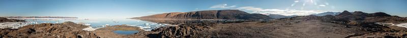 Buchanan Bay ftom South side of Skraeling Island