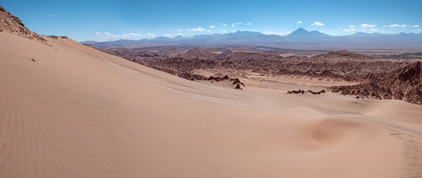 The Dunes of Valle de la Muerte