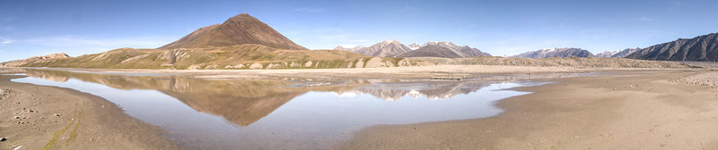 Bylot Beach reflection s