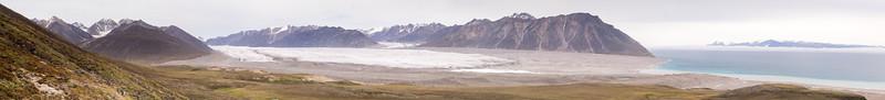 Sirimilk Glacier on Bylot ISland