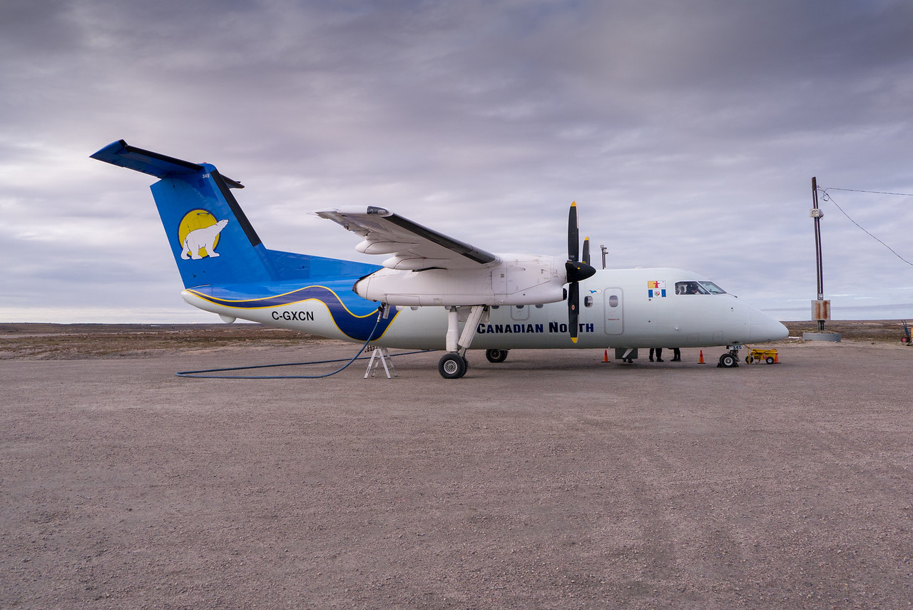 Refueling in Clyde River