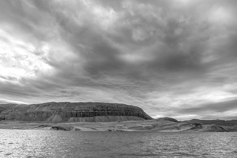 Sedimenatry Cliffs across from Curry Island