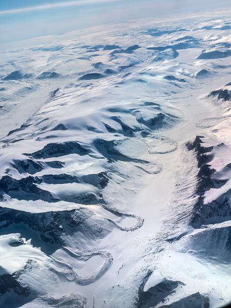 Terminal Moraine Baffin Island
