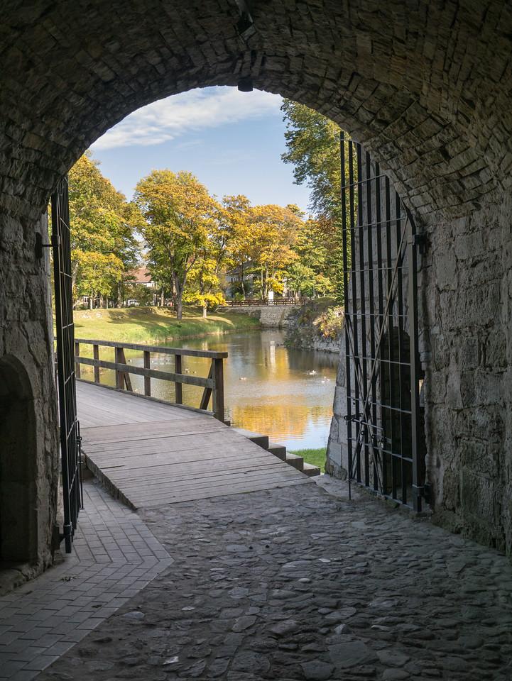 Kuressaare castle. Saaremaa