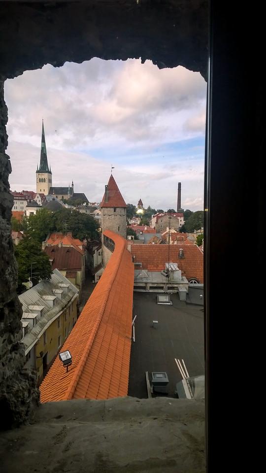 ALong Tallins Medieval Walls