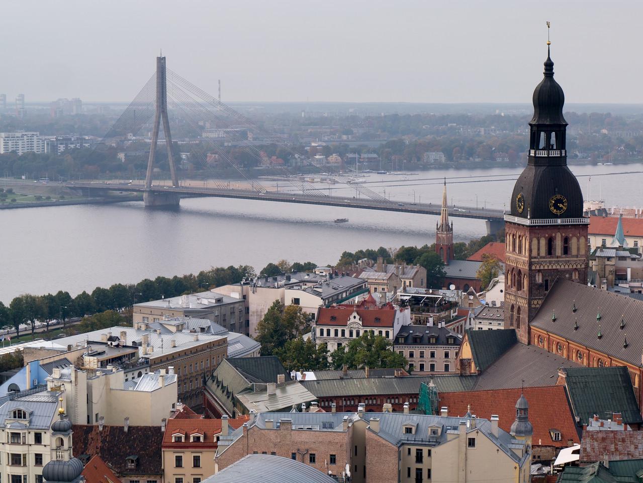 Daugava River  Riga, Latvia