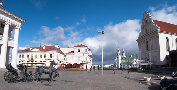 Town Square in Minsk