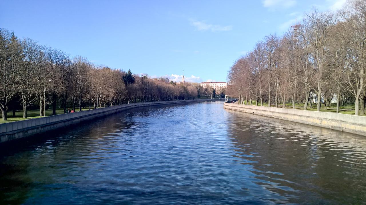 Svislach River