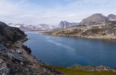Looking South Between Ikaasatsivaq and Ammassilik