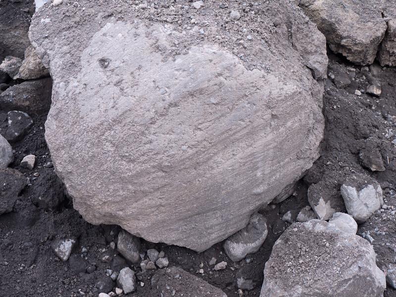 Polished by a glacier