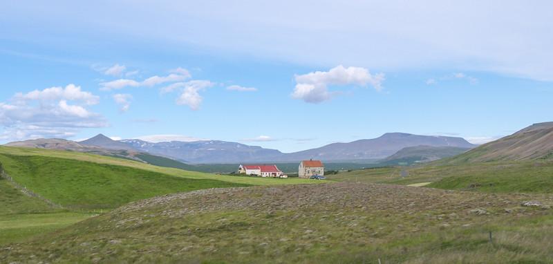 Road to Borgarnes