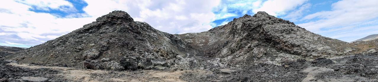 Crater at Krafla