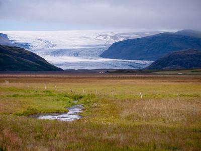 Ice cap Glacier near Hofn