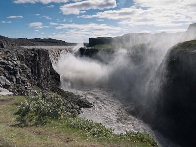 Dettifoss in jokulsargljufur national park