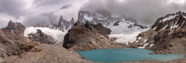 Fitz Roy from across Laguna de Los Tres