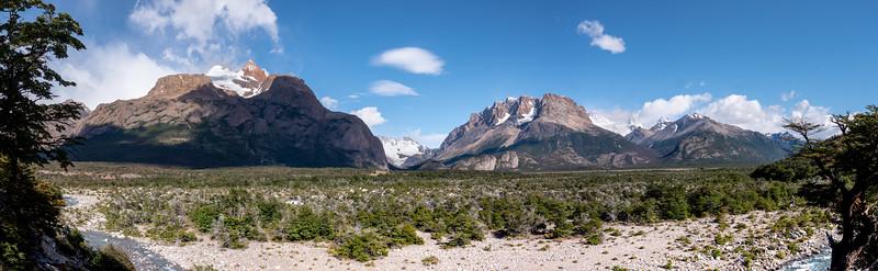 Aiguille Mermoz, Guillaumet, Glacier Marconi  8963 Feet